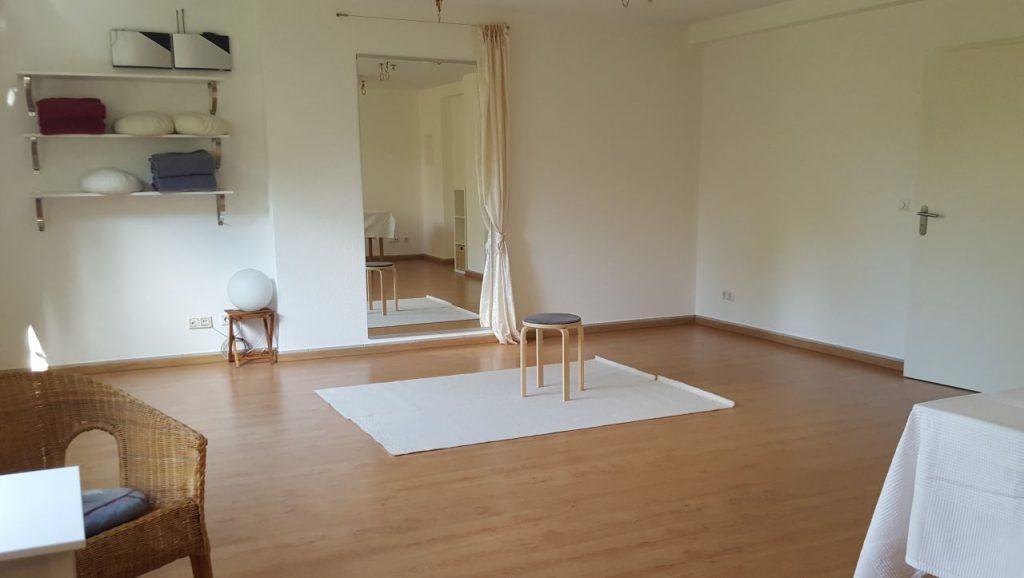Svasthya Studio für Yoga & Alexander-Technik Bonn - Gartenraum
